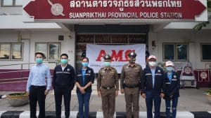 AMC Fights against with Covid-19 crisis by donating items to the general public